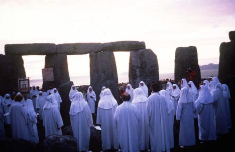Druids at Stonehenge